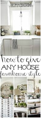 How to give any house farmhouse style - Great tips on how to make any home  - Modern Farmhouse
