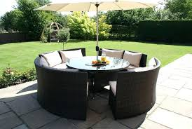 rattan outdoor table and chairs round rattan garden table and chairs review of ideas in outdoor rattan outdoor table and chairs 8 round
