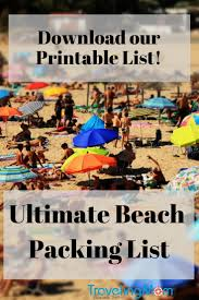 The Ultimate Family Beach Vacation Packing List (And Printable ...