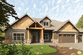 craftsman style house plans one story awesome 78 best house plans images on