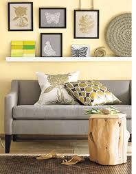 home dzine decorating with yellow