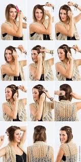 účes Pro Krátké Vlasy To Udělejte Sami Večerní účesy Pro Krátké