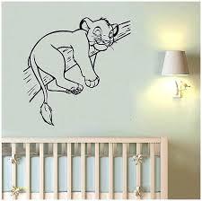 disney wall decor wall decor decal lion king nursery decals inspirational home frozen wall decor