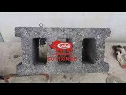 install nylon sleeve for hollow brick