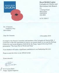 Charity Appeal Letter Amazing Ideas Collection Thank You Letter For