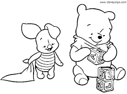 Small Picture Baby Tigger Coloring Pages Baby Pooh Coloring Pages Disney