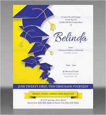 Graduation Invitation Template Impressive Free Graduation Invitation Templates For Word Picture Free Able