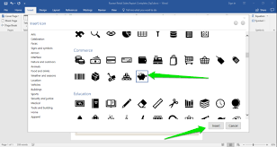 microsoft word icon icons in word computer applications for managers