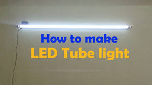 Fuse Tube Light Glower Without Choke How To Make Led Tube Light Convert Old Tube Tight In To Led