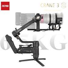 ZHIYUN Kran 3S S E 3 achse handheld gimbal wireless1080PFHDmage übertragung  kamera stabilisator maximale last 6,5Kg, suitableforSLR|Hand-Tragbügel