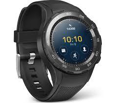 huawei digital watch. huawei watch 2 sport - black huawei digital