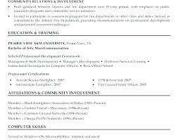 Firefighter Resume Templates Awesome Firefighter Resume Sample Firefighter Job Resume Samples Fire