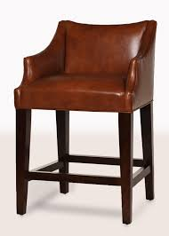 teton leather counter stool zoom