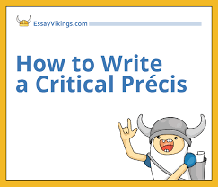 how to write a critical precis out mistakes com how to write a critical precis quickly