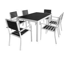 vidaxl outdoor dining set 7 pieces 59 1 x35 4 x29 1