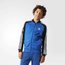 adidas kids clothing. adidas kids clothing | basketball superstar track jacket (multi) - j91d2679