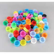 Túi nắp nút chai nhiều màu cho bé luyện vận động tinh, chơi nhiều trò chơi  bổ ích