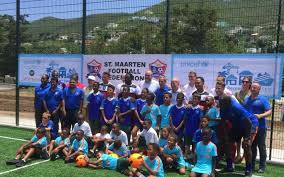 dutch football association and partners invested in mini pitch at emilio wilson park phillipsburg