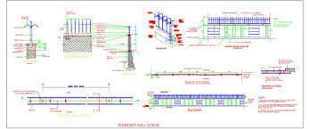 Ms Square Pipe Grill Design M S Bar Boundary Wall Detail Design Autocad Dwg Plan N