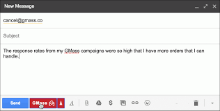 How To Cancel Your Paid Gmail Mail Merge Subscription To Gmass