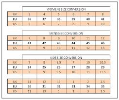 italian shoe size conversion size guide
