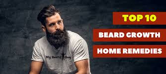 best beard growth home remes for