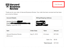 Business Receipt Domestic Usa Canada Subscribers Request A Copy Of A Paid