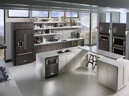 kitchenaid black stainless. the elegant look of black stainless steel can enhance every kitchen by adding a touch class and modernity. kitchenaid