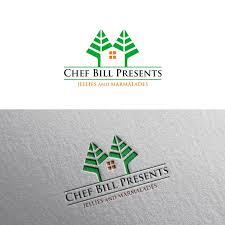 Bill Logo Design Logo Design For Chef Bill Presents By Pulogo Design 20400637