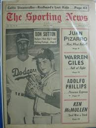 1966 Sporting News May 14 Don Sutton ...