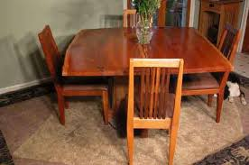 20 handmade dining room furniture double cherry wood slab custom rustic dining table