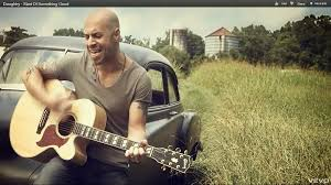 Modern mobile phone with blank screen on glossy and matte squares background. Daughtry Start Of Something Good Video