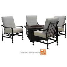 Fire Pit Hampton Bay Fire Pit Sets Outdoor Lounge Furniture