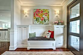 Marvellous Home Tip For Entryway Rug Ideas Entry Transitional With Wall Art Built  In Bench
