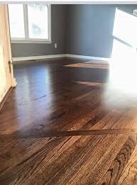 dark walnut wood floor stain