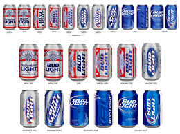 Old Bud Light Logo Bud Light Introduces New Label But How Effective Can It