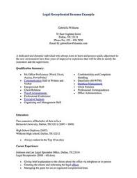 Sample Resume Receptionist Administrative Assistant - Sample Resume ...