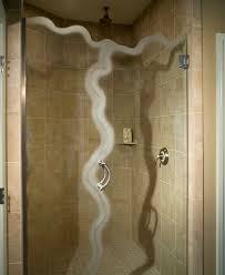 glass shower door types