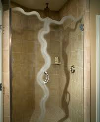 glass shower door types