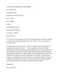 Recommendation Letter For Teaching Position 50 Amazing Recommendation Letters For Student From Teacher