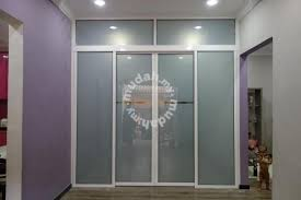 top track aluminium sliding door 4 furniture decoration for in cheras kuala lumpur