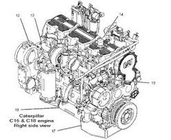 caterpillar c15 c18 engine manual parts catalog cat c15 and c18 engines