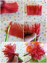 Glace Paper Flower Pretty Paper Flower Diy Catch My Party