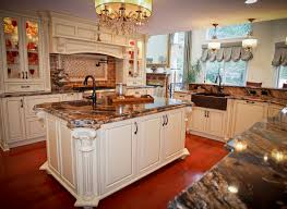 Custom Kitchen Island Traditional Old World Charm Spring Lake New Jersey By Design Line