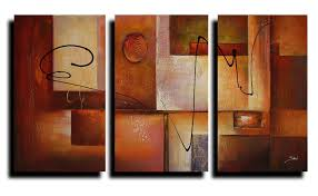 geometric graphes modern abstract oil painting canvas wall art stretched frame ready to hang