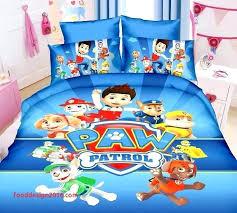 skye paw patrol bedding paw patrol toddler bed awesome boy toddler bedding sets com paw patrol