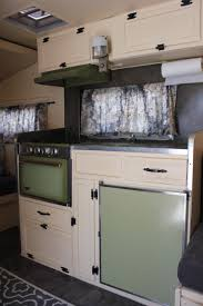 Camper Trailer Kitchen Designs 1969 Roadrunner Trailer Restored For Sale