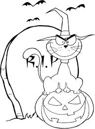 Small Picture Halloween Coloring Pages Decorations Coloring Pages