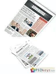 Newspaper Template For Photoshop Free Newspaper Template For Photoshop Download Templates Old