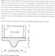 By Shear Design Solved Design The Bridge Deck By Drawing The Shear Force